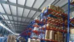 重型高位货架竣工客户验收