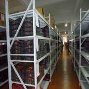 杭州纺织公司家纺货架安装